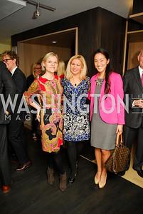 Kirsten Wegner,Stephanie Baucus,Tina Jeon,November 5,2012,A cocktail party for Club Caravan at A Bar,Kyle Samperton