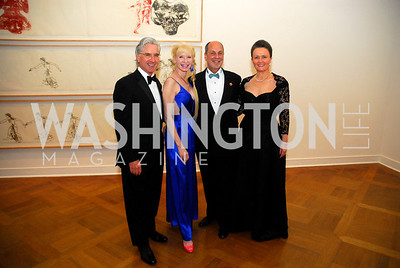 Carl Colby, Dorothy Colby, Harry Muscarella, Marjorie Muscarella, Corcoran Ball, April 20, 2012, Kyle Samperton