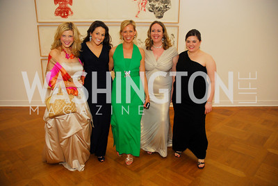 Allison Priebe Brooks, Jennifer Mellon Peters, Meredith Holland, Sara Regan, Audrey Swanstrom, Corcoran Ball, April 20, 2012, Kyle Samperton