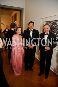 Sachiko Kuno, Ryuji Ueno, Timothy Bork, Corcoran Ball, April 20, 2012, Kyle Samperton
