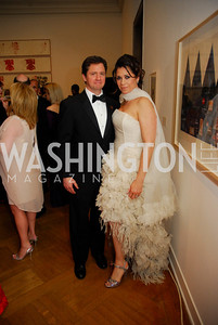 Bruce Harris, Jennice Fuentes,  Corcoran Ball, April 20, 2012, Kyle Samperton