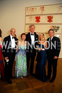 Michael Chertoff, Meryl Chertoff, Fred Ryan, Catherine Armour, John McAustin, Corcoran Ball, April 20, 2012, Kyle Samperton