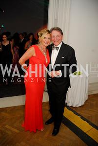 Tina Alster,Paul Frazer, Corcoran Ball, April 20, 2012, Kyle Samperton