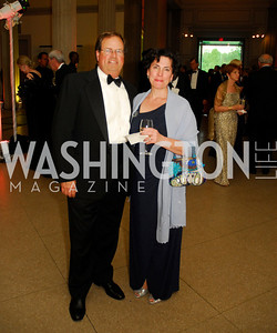 Chris Smith, Lisa Smith, Corcoran Ball, April 20, 2012, Kyle Samperton