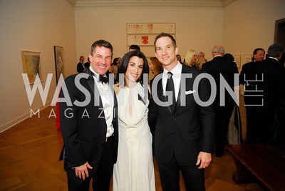 Jeremy Bernard, Traci Bernstein, Matt Beaver, Corcoran Ball, April 20, 2012, Kyle Samperton