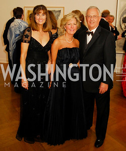 Tammi Collins, Molly Rolandi, Fred Bollerer, Corcoran Ball, April 20, 2012, Kyle Samperton