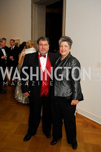 Steve Labensky, Secretary Janet Napolitano, Corcoran Ball, April 20, 2012, Kyle Samperton