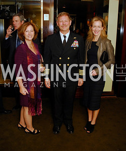 Marilyn  Olson,Evin Thompson,Kristen Muhlner,March 1,2012,Courage and Compassion Award Dinner at Cafe Milano,Kyle Samperton