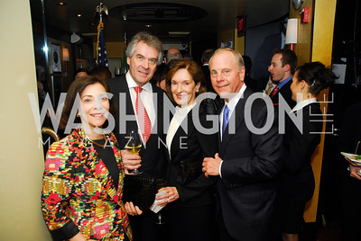 Lady Westmacott,Sir Peter Westmacott,Donna McLarty,Mac McLarty,March 1,2012,Courage and Compassion Award Dinner at Cafe Milano,Kyle Samperton