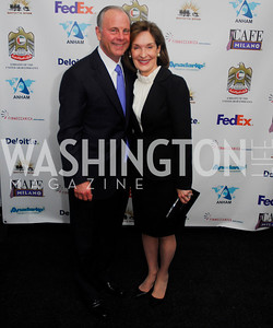 Mac McLarty,Donna McLarty,March 1,2012,Courage and Compassion Award Dinner at Cafe Milano,Kyle Samperton