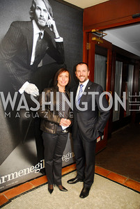 Tania Fontana,Nicola Fontana,March 1,2012,Courage and Compassion Award Dinner at Cafe Milano,Kyle Samperton
