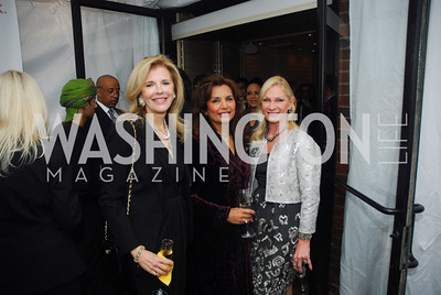 Jane Cafritz,Shelia Saleh,,Susan Pillsbury,March 1,2012,Courage and Compassion Award Dinner at Cafe Milano,Kyle Samperton