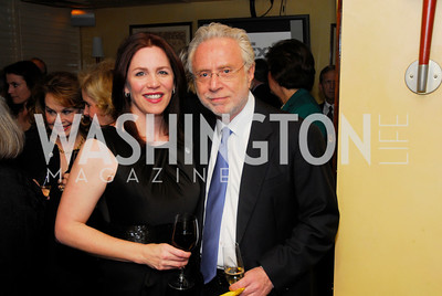 Sherrie  Marshall,Wolf Blitzer,March 1,2012,Courage and Compassion Award Dinner at Cafe Milano,Kyle Samperton