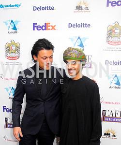 Vittorio Grigola. Sheik Al-Julanda,March 1,2012,Courage and Compassion Award Dinner at Cafe Milano,Kyle Samperton