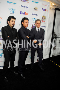 Daniel Bonavari,Vittorio Grigolo,Israel  Gursky,March 1,2012,Courage and Compassion Award Dinner at Cafe Milano,Kyle Samperton
