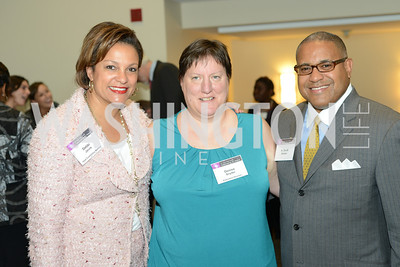 Debbi Jarvis, Denise Snyder, Scott Bolden, DC Rape Crisis Center celebrates 40 years at Reed Smith.
