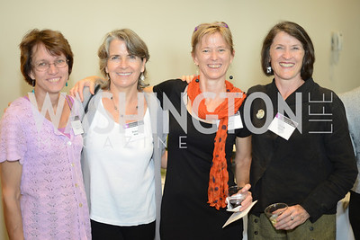 Nancy Gallagher, Robin Mize, Virginia Myers, Norah Neale,  DC Rape Crisis Center celebrates 40 years at Reed Smith.