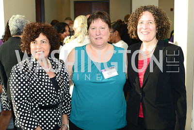 Lynn Rosenthal, Denise Snyder, Bea Hanson, DC Rape Crisis Center celebrates 40 years at Reed Smith.