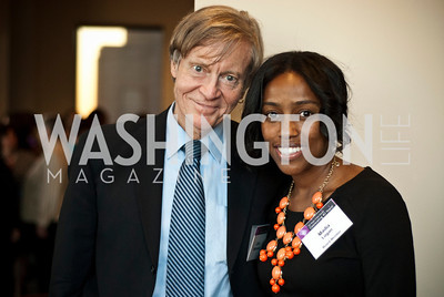 John Stolenberg, Madia Logan, DC Rape Crisis Center holds a reception celebrating their 40th Anniversary at Reed Smith.
