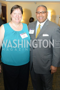 Denise Snyder, Scott Bolden, DC Rape Crisis Center celebrates 40 years at Reed Smith.