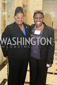 Congresswoman Gwen Moore, Indira Henard,  DC Rape Crisis Center celebrates 40 years at Reed Smith.