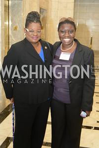 Congresswoman Gwen Moore, Indira Henard,  DC Rape Crisis Center celebrates 40 years at Reed Smith.