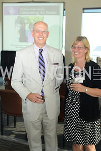 Craig Lasher, Denise Gray,   DC Rape Crisis Center celebrates 40 years at Reed Smith.