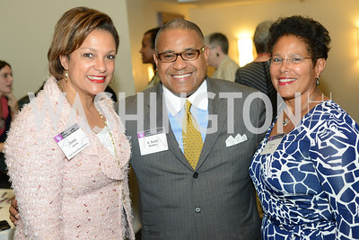 Debbi Jarvis, Scott Bolden, Tamara Smith, DC Rape Crisis Center celebrates 40 years at Reed Smith.