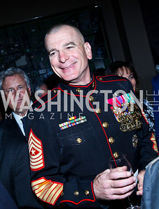 Senior Enlisted Advisor to the Chairman of the Joint Chiefs of Staff Sergeant Major Bryan Battaglia. Eighth Annual Tribute to the United States Coast Guard. Photo by Tony Powell. Building Museum. June 12, 2012