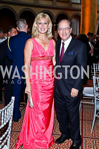 Corrine Kosar, Duncan Smith. Eighth Annual Tribute to the United States Coast Guard. Photo by Tony Powell. Building Museum. June 12, 2012