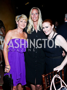 Christine Campagna, Karen Vance, Kara von Dresner. Eighth Annual Tribute to the United States Coast Guard. Photo by Tony Powell. Building Museum. June 12, 2012