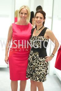 Jill Daschle, Maryam Mujica.  Dior and Elle had a cocktail party, hosted by Linda and Jill Daschle, to support N Street Village.  May 10, 2012.  Photo by Ben Droz