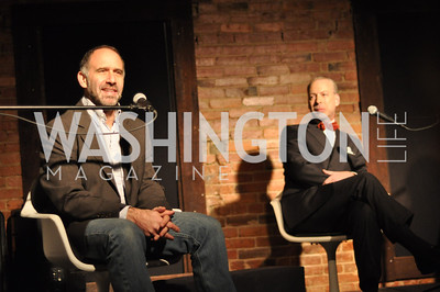 Empire Unplugged at Montserrat House February 3.  A conversation about the Federal Reserve, Photo by Ben Droz