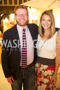 Jason Rano, Jocelyn Lyle. Environmental Working Group hosts an Earth Day reception, with Washington Life Magazine.