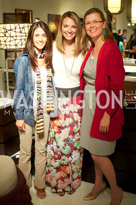 Darian Drescher, Jocelyn Lyle, Heather White Environmental Working Group hosts an Earth Day reception, with Washington Life Magazine.