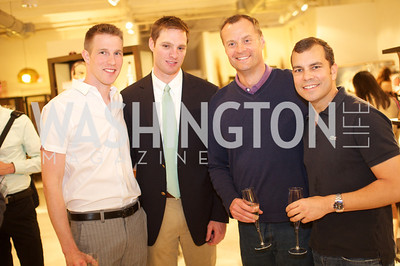 William Schache, Cory Carlisle Thomas Cluderay, Rob Linnander . Environmental Working Group hosts an Earth Day reception, with Washington Life Magazine.