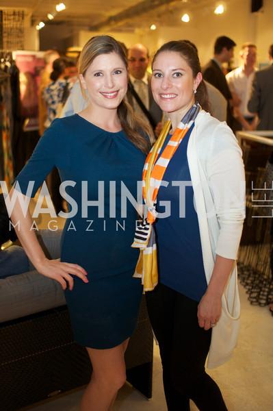 Ashley Prange and Alexandra Sawyer Au Naturale Glow Environmental Working Group hosts an Earth Day reception, with Washington Life Magazine.