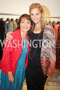 Nora Pouillon, Ami Aronson. Environmental Working Group hosts an Earth Day reception, with Washington Life Magazine.