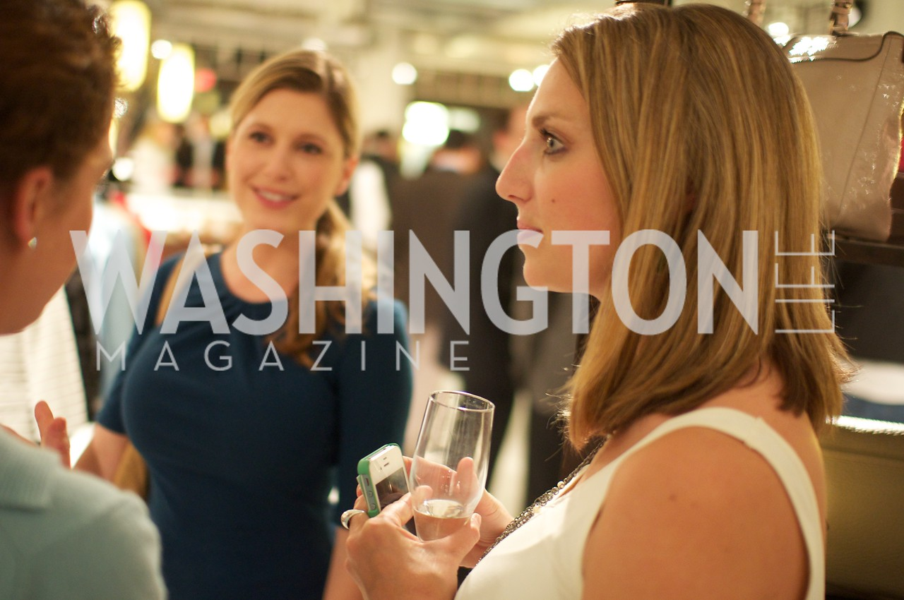 Ashley Prange, Jocelyn Lyle. Environmental Working Group hosts an Earth Day reception, with Washington Life Magazine.