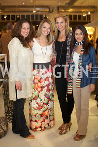 Julia Cohen, Jocelyn Lyle , Ami Aronson, Darian Drescher. Environmental Working Group hosts an Earth Day reception, with Washington Life Magazine.