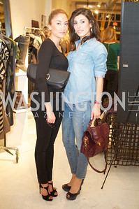 Nina Ossanlou, Goli Abezini. Environmental Working Group hosts an Earth Day reception, with Washington Life Magazine.