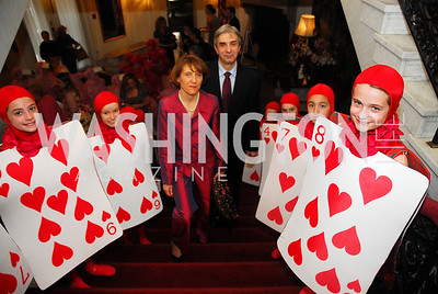 Rosa Batoreu,Ambassador Nuno Brito,March 23,2012,Evening In Wonderland at the Washington Club,Kyle Samperton