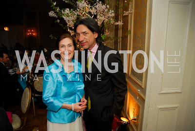 Sharon Whitehouse,Septime Webre,March 23,2012,Evening In Wonderland at the Washington Club,Kyle Samperton