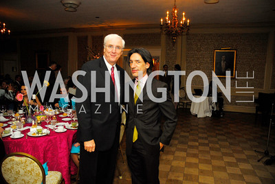 Ambassador Michael Collins,Septime Webre,March 23,2012,Evening In Wonderland at the Washington Club,Kyle Samperton