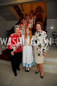 Priscilla Baker,Nicole Morgan,Anne Morgan,March 23,2012,Evening In Wonderland at the Washington Club,Kyle Samperton