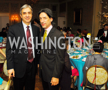 Ambassador Nuno Brito,Septime Webre,March 23,2012,Evening In Wonderland at the Washington Club,Kyle Samperton