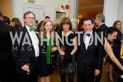 Jeremy Skog,Laura Lieberman,Sally Bechara,Dennis Bachara,March 23,2012,Evening In Wonderland at the Washington Club,Kyle Samperton