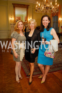Michel Lebar,Traudel Lange,Karen Hold,March 23,2012,Evening In Wonderland at the Washington Club,Kyle Samperton