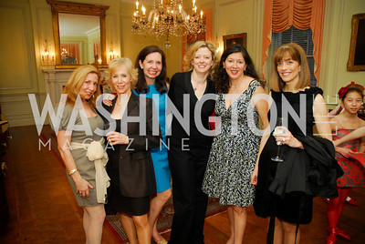 Michel Lebar,Traudel Lange,Karen Hold,Elizabeth Pinkertor,Loretta Greene,Vickie Ladt,March 23,2012,Evening In Wonderland at the Washington Club,Kyle Samperton
