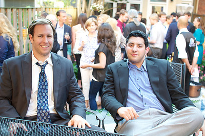 James Gregory, Matt Chandler, Evers & Co. Spring Art Show in Dupont.  Photo by Ben Droz.